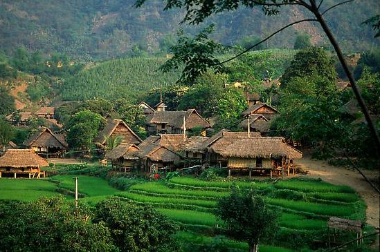 Bản văn Mai Châu điểm du lịch huyện mai châu
