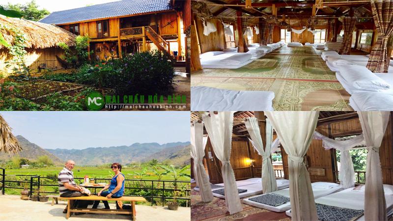 Nhà sàn ở mai châu Hòa Bình