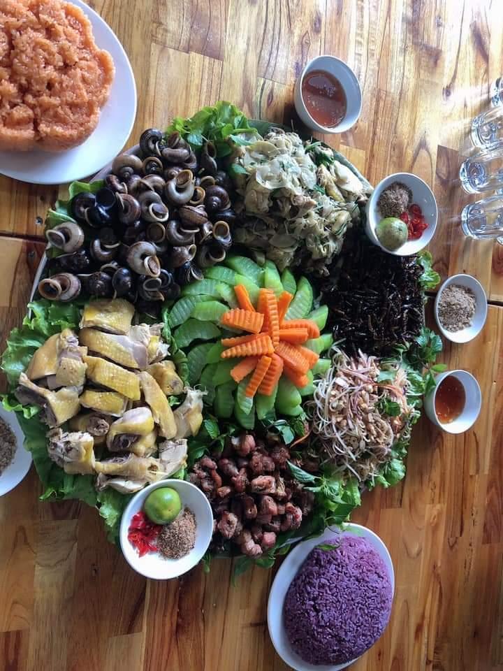 Nhà hàng Mai Châu Farmstay - 38 bản Lác